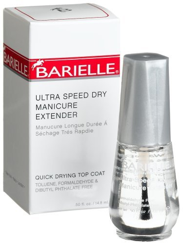 Barielle Ultra Speed Dry Manicure Extender, 0.50-Ounces Glass Bottle (Barielle Cream)