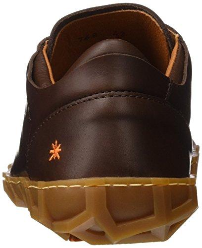Noir brun De Hommes Patrimoine Du Baskets Brun Melbourne 0768 L'art 0vvaz