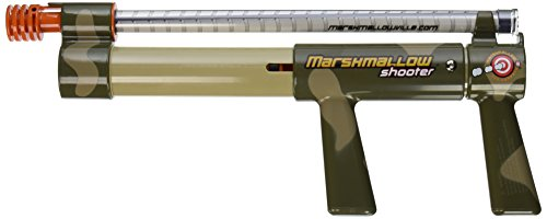 Marshmallow Shooter in Camo (colors may (Marshmallow Gun Shooter Toy)
