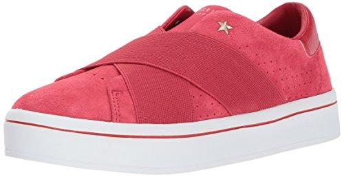 927ccl Mujer para Skechers Rojo Mocasines XfqBqwd