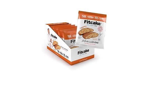 24 Uds Fitcake® Bizcocho sin azúcar, Proteico, Sin aceite de ...