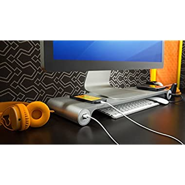 Space Bar Keyboard Organizer & USB Hub