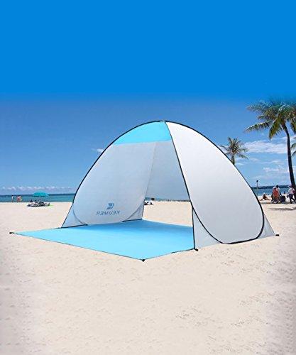 HAIPENG Carpas De Playa Al Aire Libre Apertura Rápida Automática Protector Solar 3-4 Personas Tienda De Pesca 200 * 180 *...
