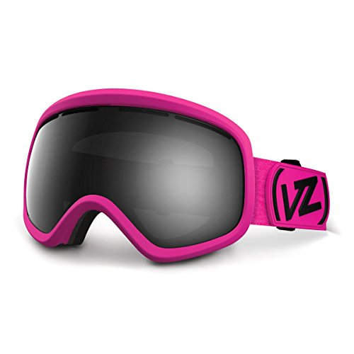VonZipper Skylab Goggles, Flash Pink/Black Chrome (Chrome Pink Goggles)