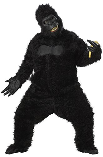 California Costumes Goin' Ape Bodysuit, Black, One Size Costume for $<!--$100.41-->