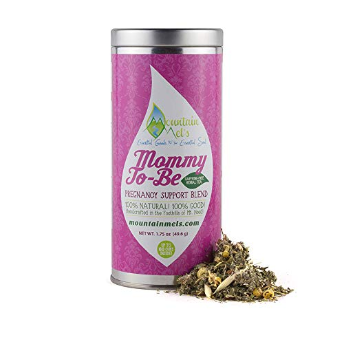Mommy To Be Caffeine Free Herbal Tea for Nourishing & Pregnancy Support Up to 60 Cups of Tea Per Tin
