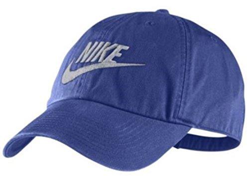 6fa42e34 Galleon - NIKE Mens Futura Washed H86 Adjustable Hat (One Size, Royal Blue)