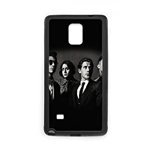 Samsung Galaxy Note 4 Cell Phone Case Black AM English Indie Rock Band Music O9Z6XJ
