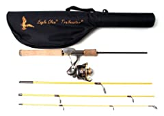More Trailmaster rods have been passed down through generations than any other rod. This handsome Eagle Claw Trailmaster Spinning Combo is lightweight and built for a lifetime of service. A beautiful and durable travel case is also included. ...