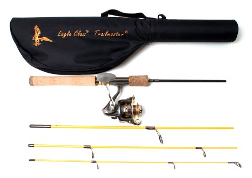 (Eagle Claw TMM66S4C Trailmaster Spinning Combo 6'6