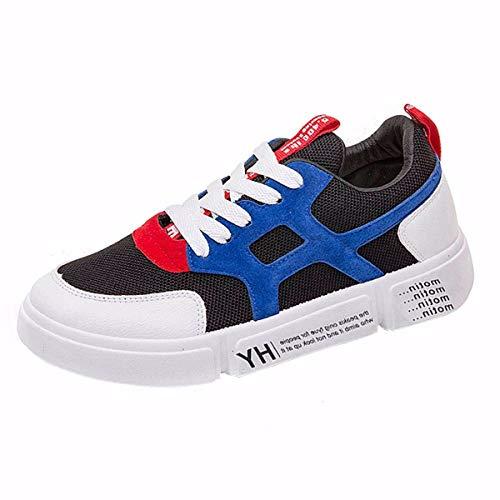 piatto di black joker di bordo unica neri sportive 40 fondo scarpe scarpe a KOKQSX a scarpe spesso 36 studenti tela wgxXqqHd7
