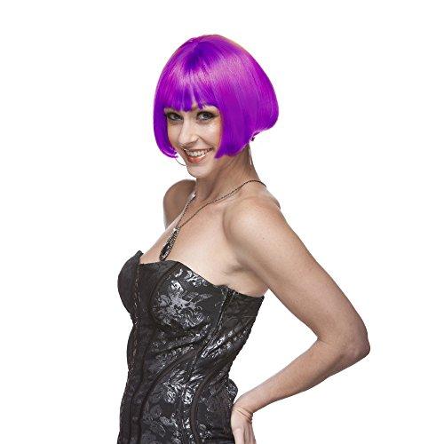 Sepia Costume Wigs (Sepia Costume Eve Synthetic Wig Magenta)