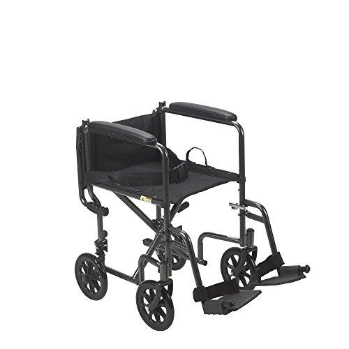 Amazon Com Drive Medical Lightweight Steel Transport Wheelchair