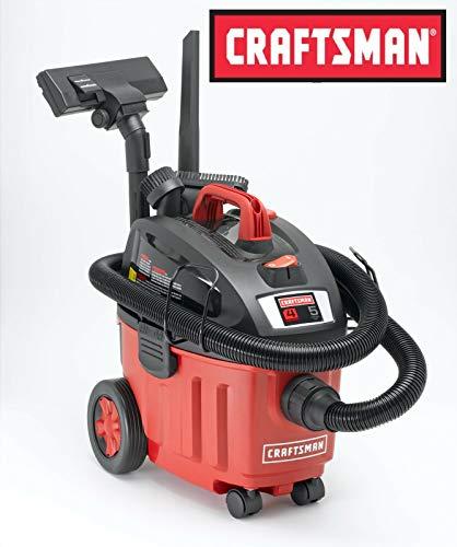 New Craftsman Ultra-Quiet 4gal Gallon Wet Dry Vacuum 5 Peak HP Portable Vac Home