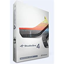 PreSonus Audio Electronics Multitrack Recording Software (S1 Prof Upgrade 4.0-Boxed)