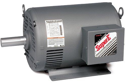 Baldor Electric Company EHFM3311T - Blower/Fan Motor - 3 ph, 7-1/2 hp, 1800 rpm, 208-230/460 V, 213T Frame, ODP Enclosure, 60 Hz