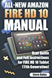 All-new Amazon Fire HD 10 Tablet Manual: User Guide