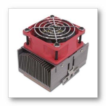 Copper Cool Fan Socket A/370 (80x80x25mm Low Noise Ball Bearing)