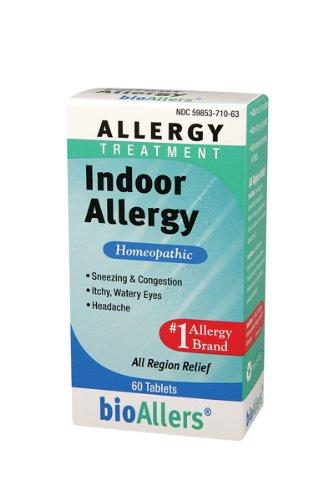 Bioallers Indoor Allergy Treatment 60 Tablets