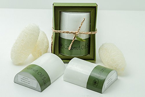Saibua Soap Thai Herbal Coconut Oil Bar 100 g.