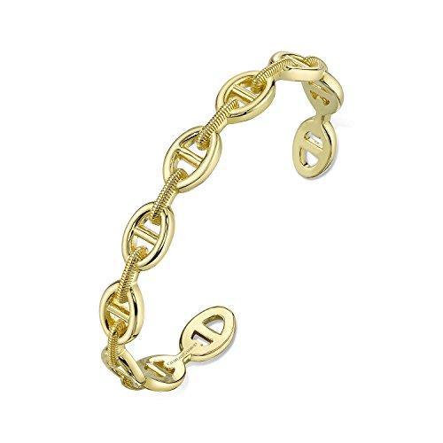 Yellow Gold Designer Open Link - 3