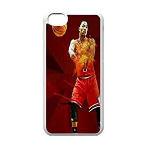 Derrick Rose Customized Case for Iphone 5C, New Printed Derrick Rose Case