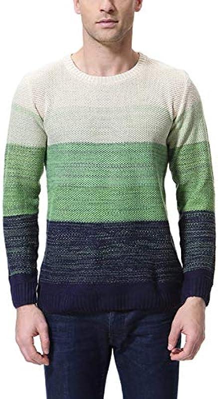 HX fashion męski sweter z długim rękawem czarodziejski kolor sweter z dzianiny gruby ciepły sweter wygodny rozmiar wiosna jesień sweter z dzianiny ubranie: Odzież