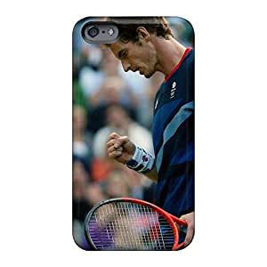 Excellent Hard Phone Covers For Apple Iphone 6 With Custom Fashion Andy Murray Tennis London 2012 Olympic Series ErleneRobinson