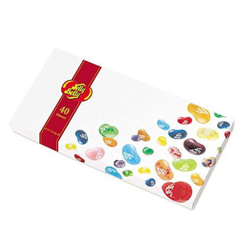 Jelly Belly Gourmet Jelly Bean Gift Box, 40 Flavors 17 oz