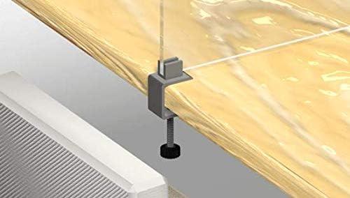 Oedim Soporte de Acero con Pinza giratoria para mamparas de protección: Amazon.es: Hogar