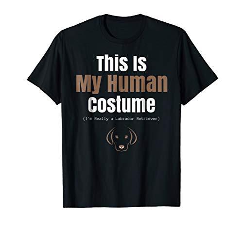 Funny Labrador Retriever Halloween TShirt 4 Costume Parties -