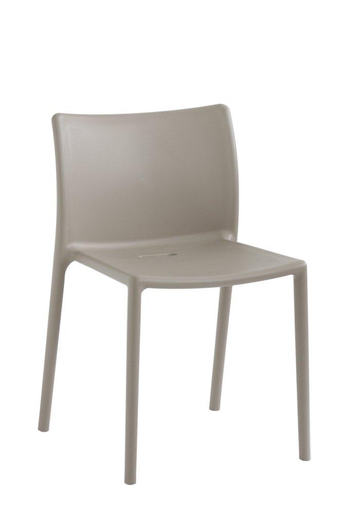 magis air chair plastic 4 piece beige amazon co uk kitchen home
