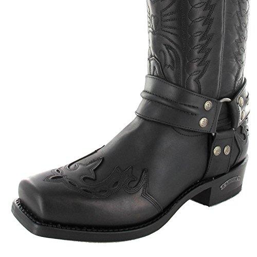 Boots Motociclista Sendra 4980 Boot Boots Nero Motociclista TU1vwq