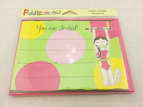 SanLori Designs Gymcredible Invitations - 8 ct