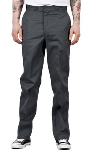 Dickies Original 874 Work Pant - Charcoal - O Dog Grey Tr...