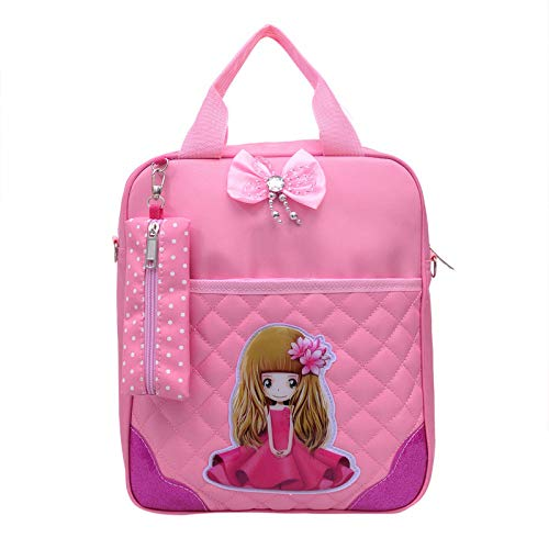 Usages pour À Femme Sac Sac pink Multi light Dos À Femme À shuangjian Dos Sac Dos BznUXx