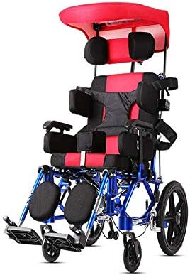 軽量の調整可能な多機能の子供用車椅子26kg人間工学に基づいた高度で快適なアームレストバック脚100kg耐荷重36 * 36cmシート手動車椅子