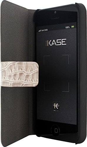 The Kase 36833781 Guess iPhone 5/5S/SE Croco Beige