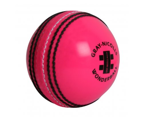 (GRAY-NICOLLS Pink Wonderball Cricket Ball, Light Pink, One Size)