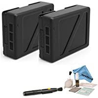 DJI Inspire 2 TB50 Intelligent Flight Battery (2 Pack) + Cleaning Kit + eDigitalUSA Microfiber Cleaning Cloth