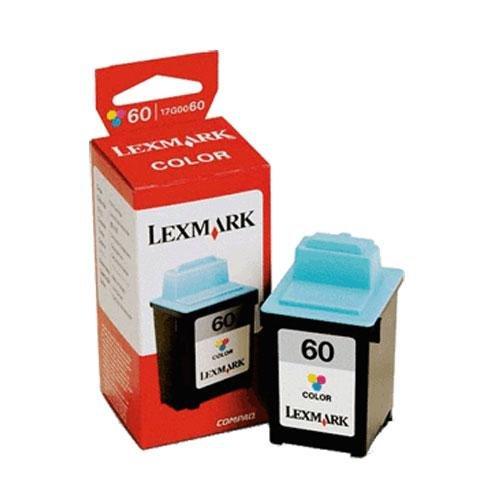 Lexmark 60 (17G0060) Color OEM Genuine Inkjet/Ink Cartridge (225 Yield) - Retail