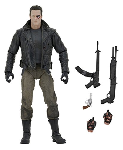 "NECA Terminator Ultimate Police Station Assault T-800 7"" Scale Action Figure"