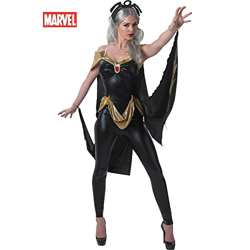 [Superhero Jumpsuit Costume - Large - Dress Size] (Storm Costume Cosplay)