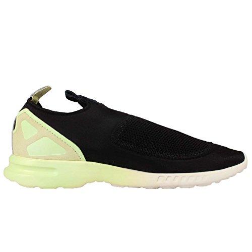 Adidas Zx Flux Glatt Slip På W - S75739 Celadon-svart