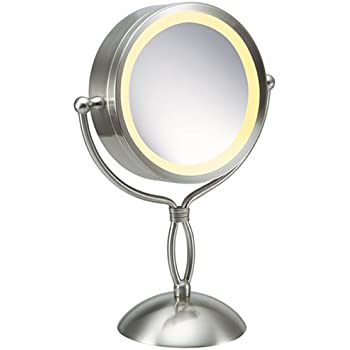 Amazon Com Homedics M 8131 7x 1x Lighted Makeup Mirror