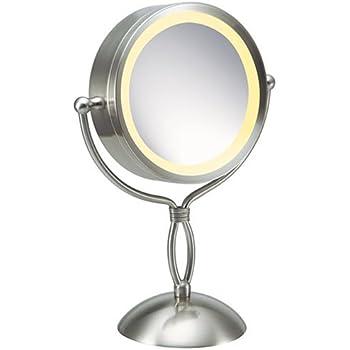 Amazon Com Homedics M 8131 7x 1x Lighted Makeup Mirror
