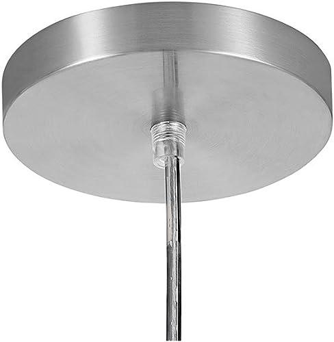 Catalina Lighting 22233-000 Transitional Linen Drum Pendant, 84 , Brushed Nickel