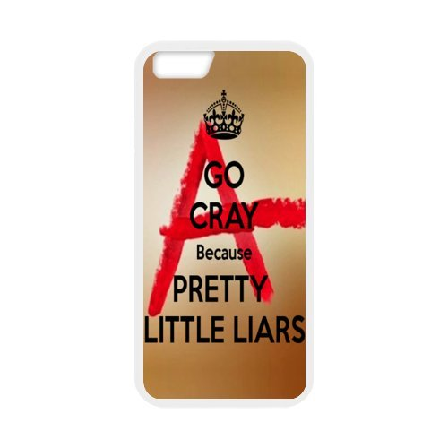 """Fayruz - iPhone 6 Rubber Cases, Pretty Little Liars Hard Phone Cover for iPhone 6 4.7"""" F-i5G74"""