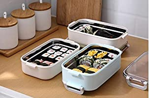 Bisj Portátil Estudiante Creativo Almuerzo Caja de Oficina de ...