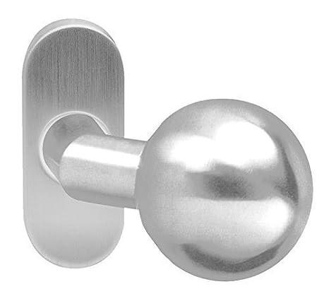 GedoTec Tirador de puerta Pulsadores de botón Pomo ø 55 mm ...